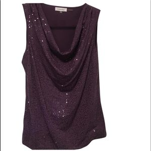 Calvin Klein Sequin Top